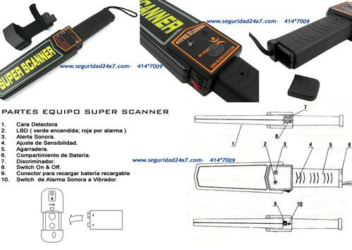 Metaaldetectoren - Super Scanner - Handmatig Detector (Garrett)
