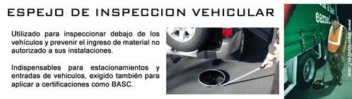 ESPEJO inspección vehicular - Espejos para revisión de vehículos