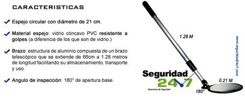 ESPEJO telescópico inspección vehicular - Espejos revisión vehícul