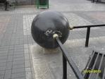 bola de marmol negro