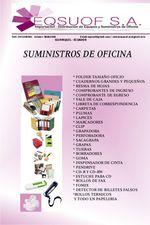 SUMINISTROS DE OFICINA