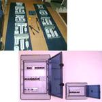 Tableros de riel din IP40, IP65