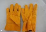 Guantes Amarillo Total de Res Primera con refuerzo en palma Tipo D