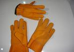 Guantes Total Amarillo Res Refuerzo de palma tipo D y Tractorista