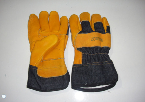 USA Mixed Denim Glove type L and Back Reinforced in Dorze 10.5