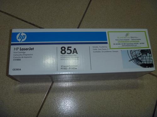 Toner HP CE285A para P1102/P1102W original nuevo -delivery gratuito