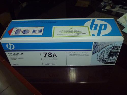 Toner CE278A para modelos HP P1566-P1606 original nuevo facturado