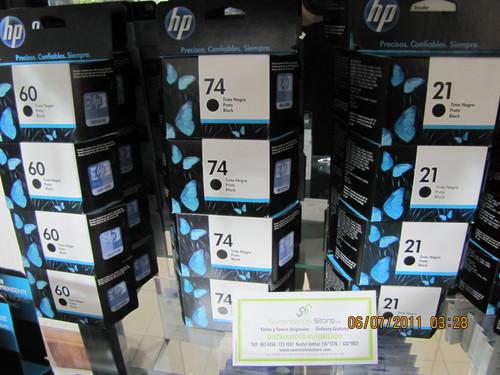 Tinta HP 21 negro original nuevo -delivery de tintas en Lima