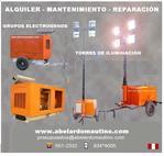 ALQUILER DE GRUPOS ELECTROGENOS