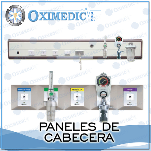 Header panels for Medical Gases