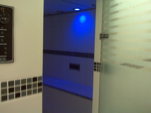 Steam chamber therapy
