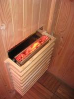 Calefactor de sauna