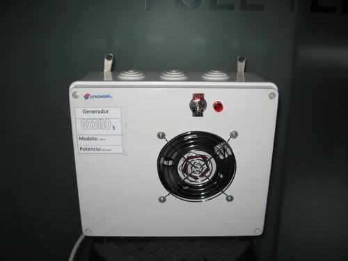 Apparatuur voor het opwekken van ozon