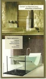 baño hecho en corian
