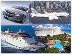 De verkoop van vliegtickets en cruises over de hele wereld