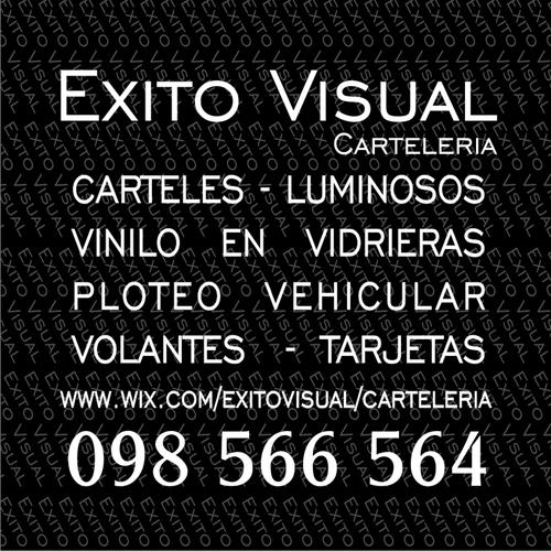 CARTELERIA EXITO VISUAL