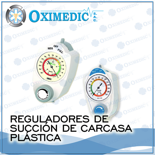 Regulators Suction plastic casing