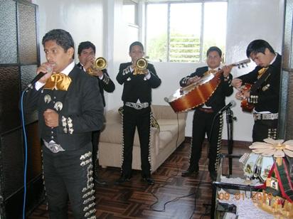 Peruvian mariachis, in Peru, Lima, northern cone, Southern Cone