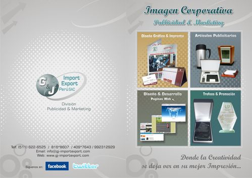 G & J Importação Exportação SAC Peru produto promocional