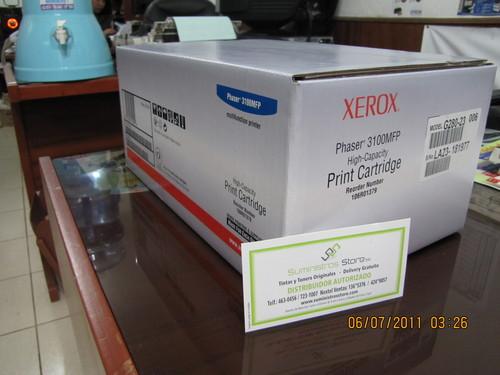 Toner Xerox 3100 alta cpacidad Codigo 106R01379