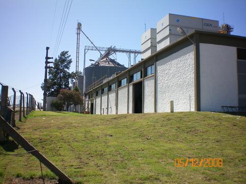 Malteria Uruguay S.A. - Sala de Máquinas