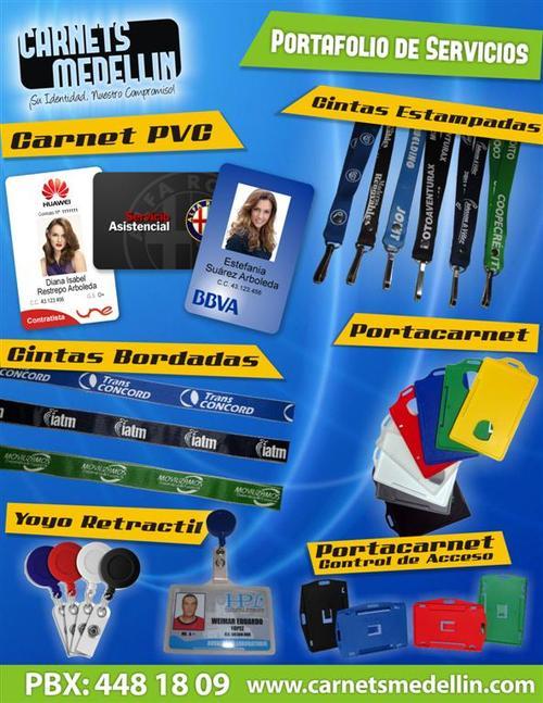 Portafolio Productos Carnet
