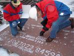 Acero chronit T-1 T-21 400, 450, 500, 700 Bhn dureza brinell