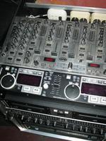 dj booth. professional sound.