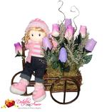 Rosas Eternas: Carreta con muñeca