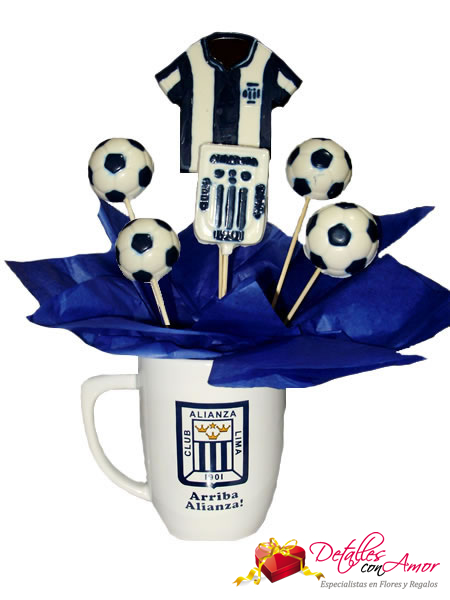 Arreglo en Chocolate: Club Alianza Lima