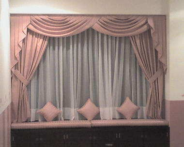curtains and furnishing