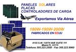 PANELES SOLARES - PLACAS SOLARES - CALENTADORES SOLARES - ACCESORIOS