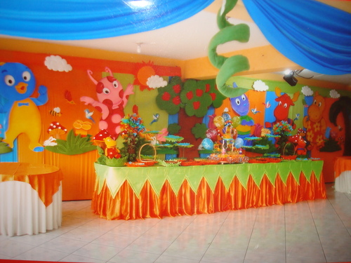 Decorations of The Backyardigans