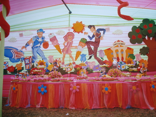 Lazy Town Decorations