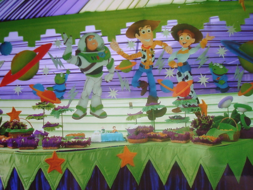 decoracion de toy story