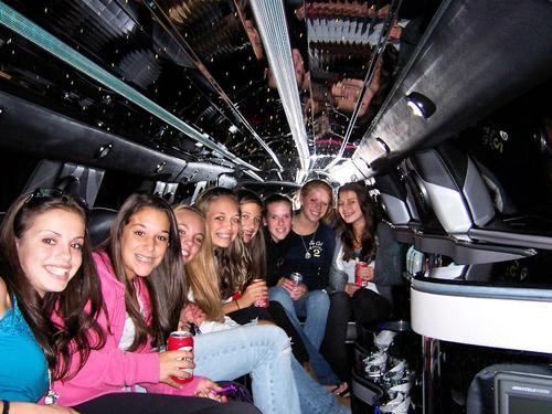 limousine para cumpleaños