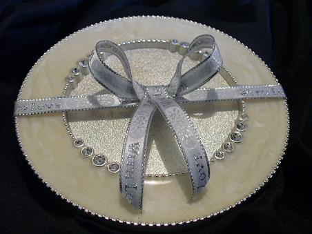 almohadillas para aros y platillos de plata