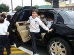 Children's birthday limousine