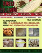 hojas de maiz para tamal
