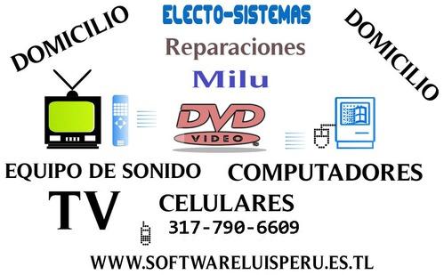 Reparaciones electrónica digital