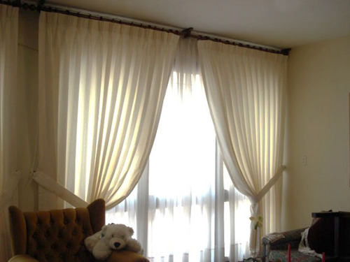Dekorala eirl qlyque la red comercial for Cortinas con argollas