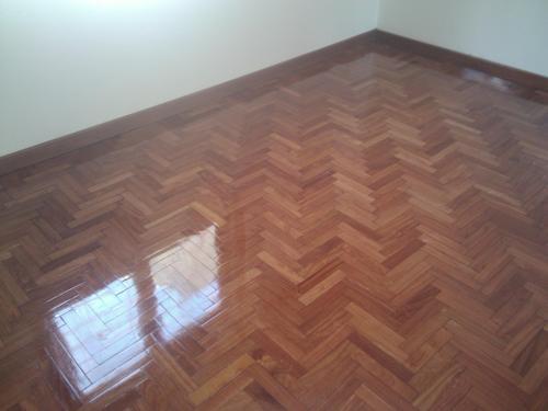 Plastificado de pisos de maderas