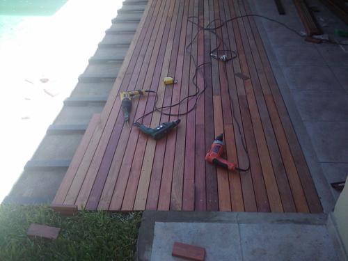 Deck de Eucaliptus 1´ x 3´ en Córdoba