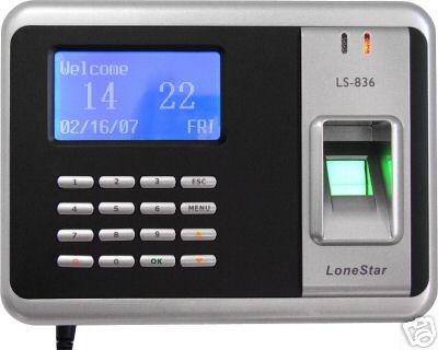 biometrische vingerafdruk klok de tijd-en aanwezigheidsregistratie