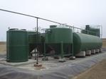 Plant huishoudelijk afvalwater