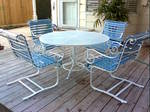 outdoor furniture refinishing powder coating