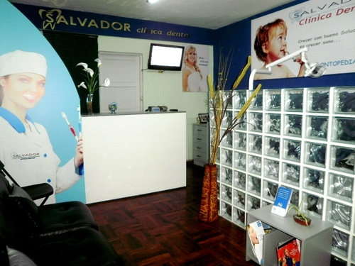 Sala de espera - recepcion Clinica Dental Salvador - Rimac - Lima