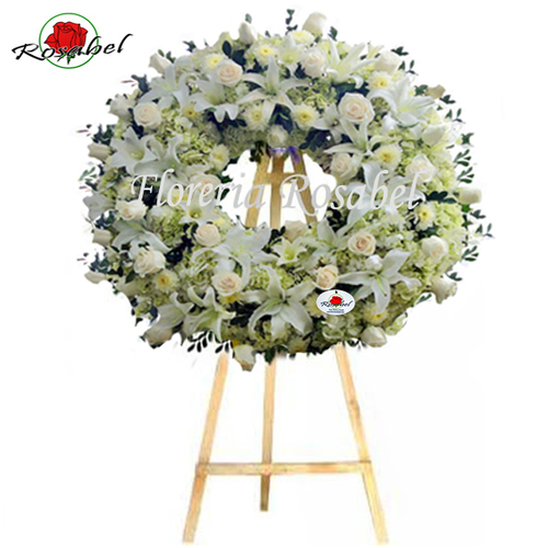 Lima Peru funeral wreaths and funeral arrangements for condolences