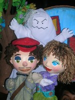 Panchito, Anita and the ghost