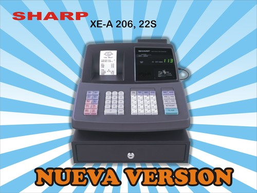 Registradora SHARP XE-A206/22S